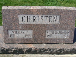 Ruth <I>Hammond</I> Christen