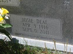 Josie <I>Deal</I> Allen