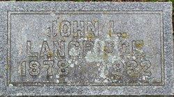 John Lockton Langridge