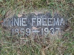 """Wilhelmina """"Minnie"""" <I>Asp</I> Freeman"""