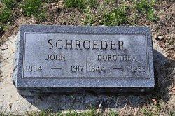 "Dorothea Sophia ""Doris"" <I>Stoutz</I> Schroeder"