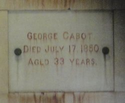 George Cabot