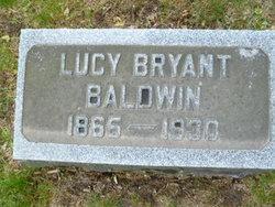 Lucy B <I>Bryant</I> Baldwin