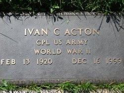 Ivan Curtis Acton
