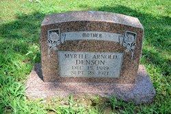 Myrtle <I>McDonald</I> Arnold, Denson