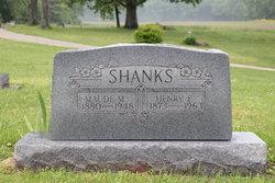 Maude Mae <I>Frederick</I> Shanks