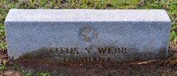 Sgt Titus S. Webb