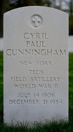 PFC Cyril Paul Cunningham