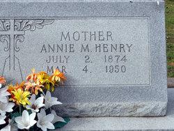 Annie Mae <I>Calvert</I> Henry