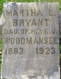 Martha Lenora <I>Woodmansee</I> Bryant
