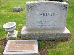 Priscilla <I>Jones</I> Gardner