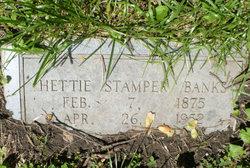 Hettie <I>Stamper</I> Banks