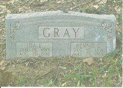 Ida E <I>Woods</I> Gray