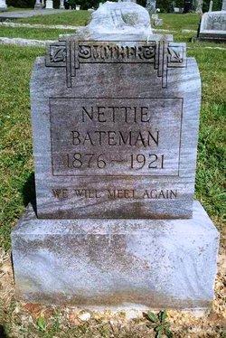 Nettie S. <I>Jones</I> Bateman