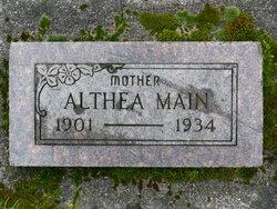 Althea Leona <I>VanCourt</I> Main