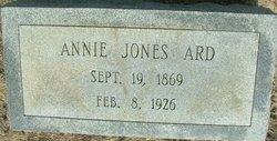 Annie <I>Jones</I> Ard