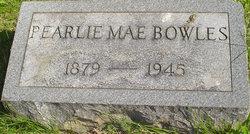 Pearlie Mae Bowles