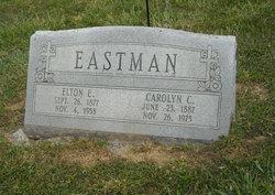 Clara Carolyn <I>Hammett</I> Eastman