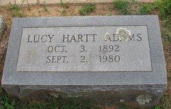 Lucy <I>Hartt</I> Adams