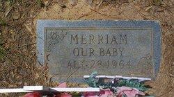 Merriam Unknown