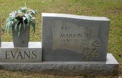 Marion T. Evans