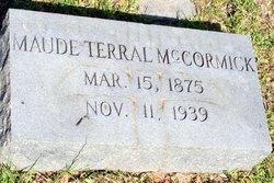 Maude <I>Terral</I> McCormick