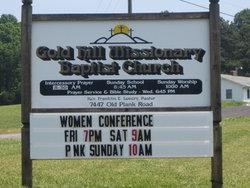 Gold Hill Baptist Church Cemetery