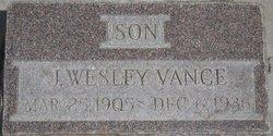 John Wesley Vance