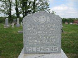 Emma F. <I>Hogan</I> Clemens