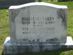 Ada Lee <I>Lovelace</I> Bailey