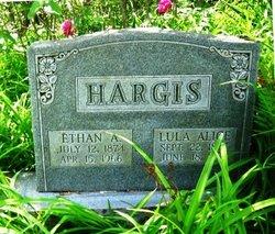 Lula Alice <I>Allen</I> Hargis