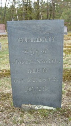 Huldah <I>Webb</I> Smith