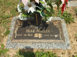 Mae Miller