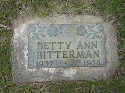 Betty Ann Bitterman