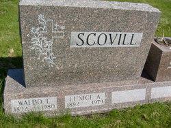 Eunice Belle <I>Aldrich</I> Scovill