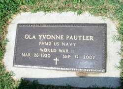 Ola Yvonne <I>Simpson</I> Pautler