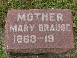 Mary <I>Donavan</I> Brause