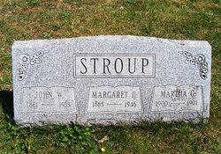 Margaret Harriet <I>Moore</I> Stroup