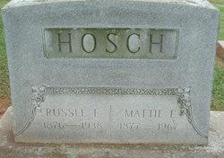 """Elizabeth Ann """"Mattie"""" <I>Lord</I> Hosch"""