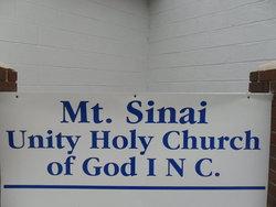 Mount Sinai Unity Holy Church Cemetery