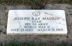 """Joseph Ray """"Joe"""" Madrid"""