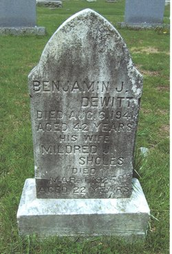 Mildred J <I>Sholes</I> Dewitt