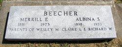 Merrill E Beecher