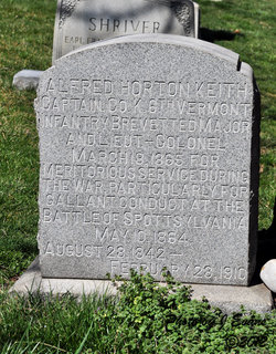 Capt Alfred Horton Keith