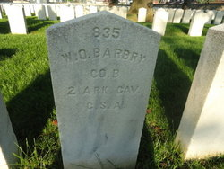 Pvt William O. Barbry