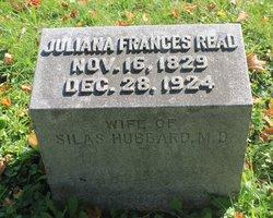 """Juliana Frances """"Frank"""" <I>Read</I> Hubbard"""