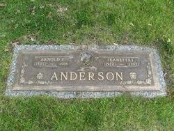 Jeanette I <I>Griffis</I> Anderson