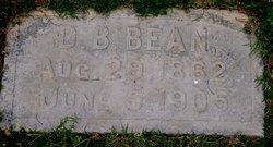 D. B. Bean