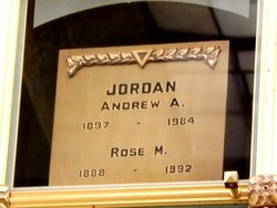 Andrew A Jordan