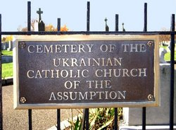 Ukrainian Catholic Church of the Assumption Cemete